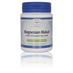 webshop supplementen Webshop Supplementen Magnesium Malaat met p 5 p 120 gram 300x300