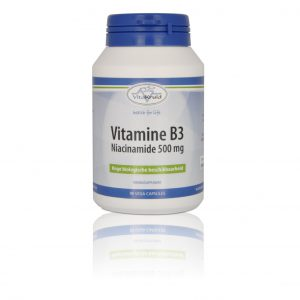 webshop supplementen Webshop Supplementen Vitamine B Niacinamide 500 mg 300x300