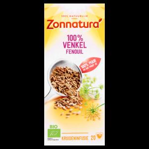 webshop supplementen Webshop Zonnatura 8711812408121 Zonnatura 100  Venkel 20 Stuks 27 g T1 300x300