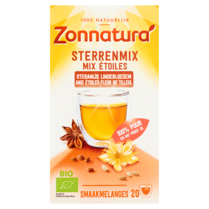 webshop supplementen Webshop Zonnatura Sterrenmix thee 2018 600 300x300