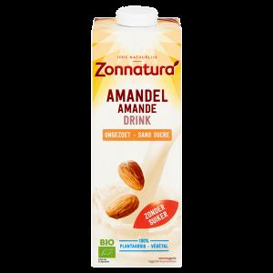 webshop supplementen Webshop Zonnatura amandel ongezoet drink 600 300x300