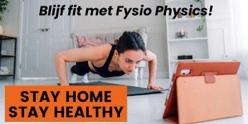 Blijf fit met Fysio Physics  Blogs Blijf fit met FP HC website 1 360x180