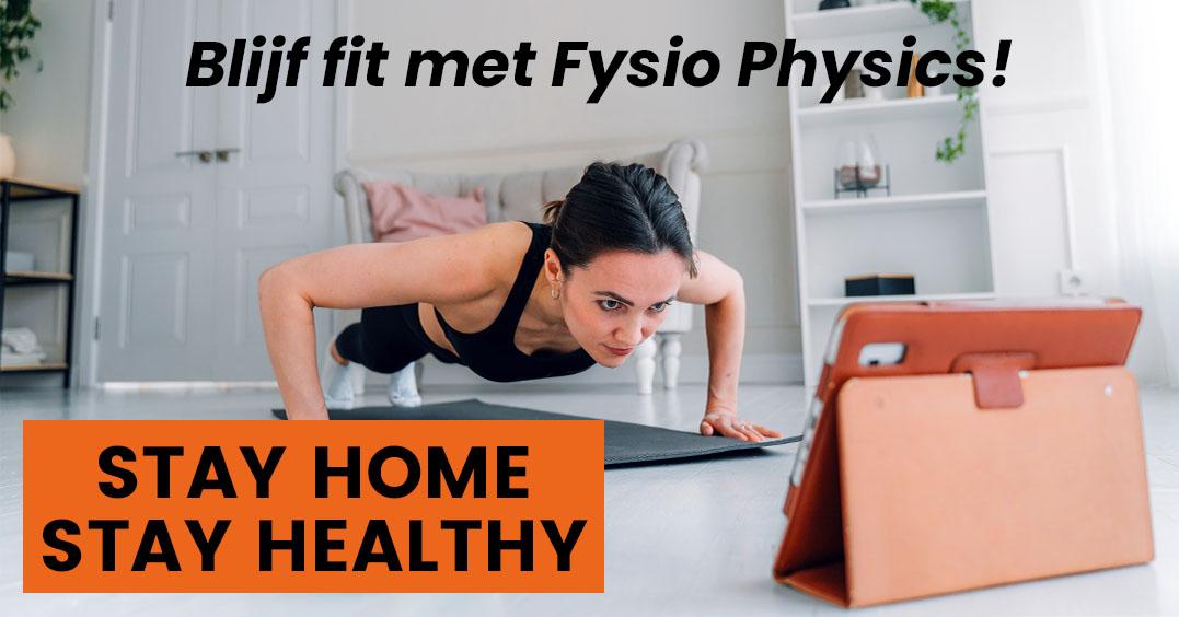 Blijf fit met Fysio Physics Blijf fit met FP HC website 1